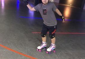 조카랑 롤러스케이트장왔어요